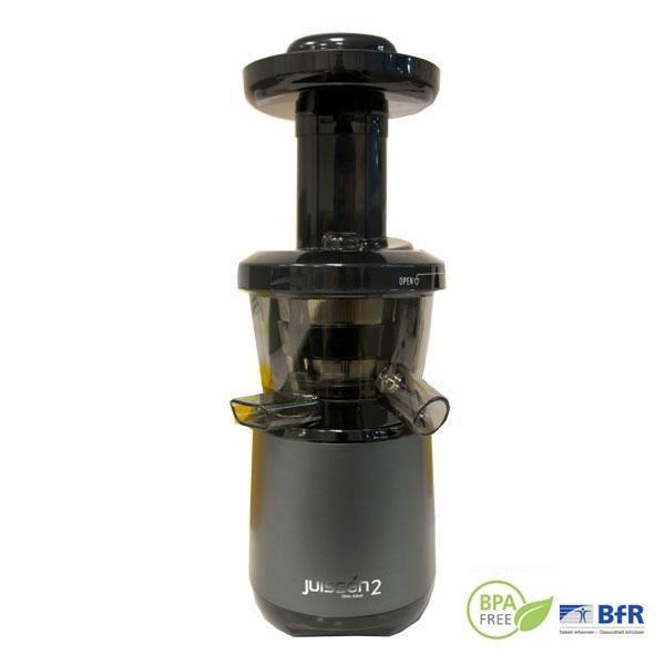 El extractor de zumos Juissen aumenta la producción de zumo hasta en un 65% respecto a las licuadoras convencionales.