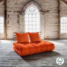 Sofá cama Shin Sano naranja