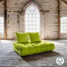 Sofá cama Shin Sano verde pistacho
