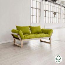 El Diván cama Edge verde pistacho