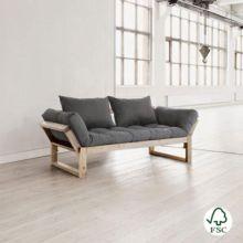 Con el diván cama Edge gris tendrás una cama más para cuando tengas invitados con un colchón de tu color favorito.