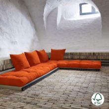 Sofá cama Chico naranja