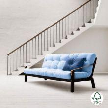 El sofá cama Poetry azul claro - Ítem