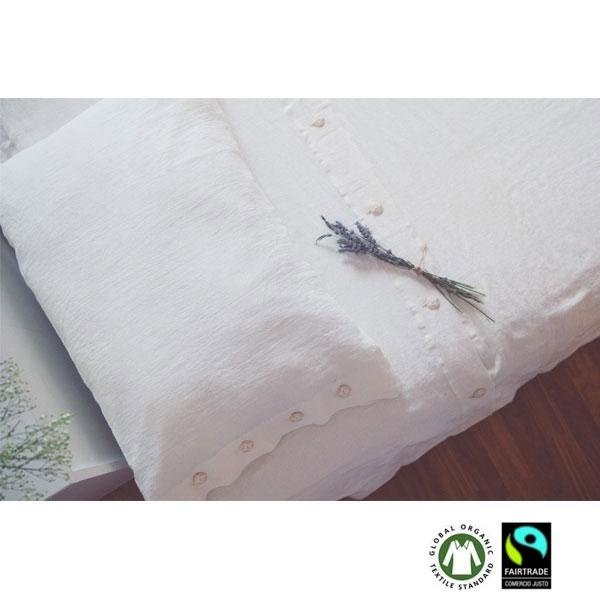 Juego de cama funda nórdica de lino natural Pura