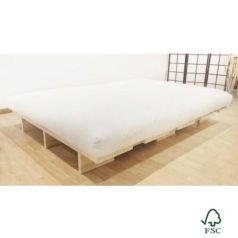 Kurosawa es una cama de madera certificada de estilo japonés sin herrajes metálicos - Ítem
