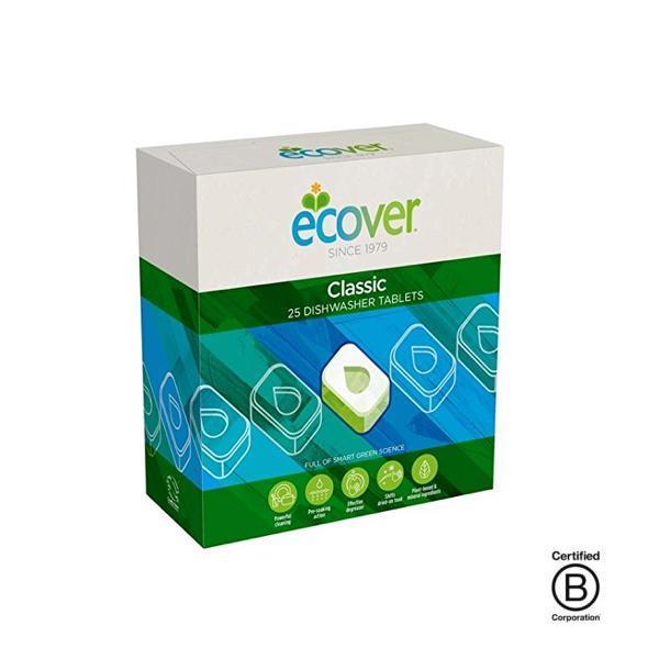 Pastillas ecológicas para el lavavajillas Ecover