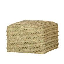 El Puf de esparto Saona es un mueble ecológico fabricado de forma artesanal