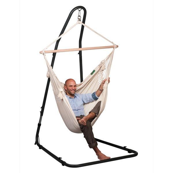 Soporte para silla hamaca mediterr neo - Soporte para hamaca ...