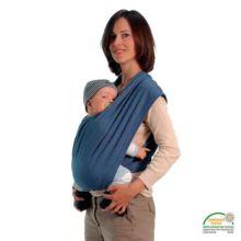 Pañuelo cargador Carry Baby azul