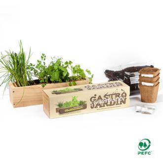 El Kit de siembra Gastrojardín es perfecto para tu cocina, tu oficina o cualquier rincón soleado de la casa.