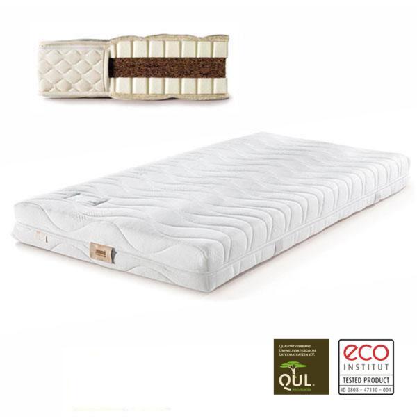 En el colchón de látex natural Basic 4 encontrarás todas las cualidades de un buen colchón natural