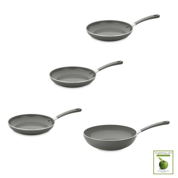 Pack de tres sartenes y un Wok ecológicos Green Pan Melbourne