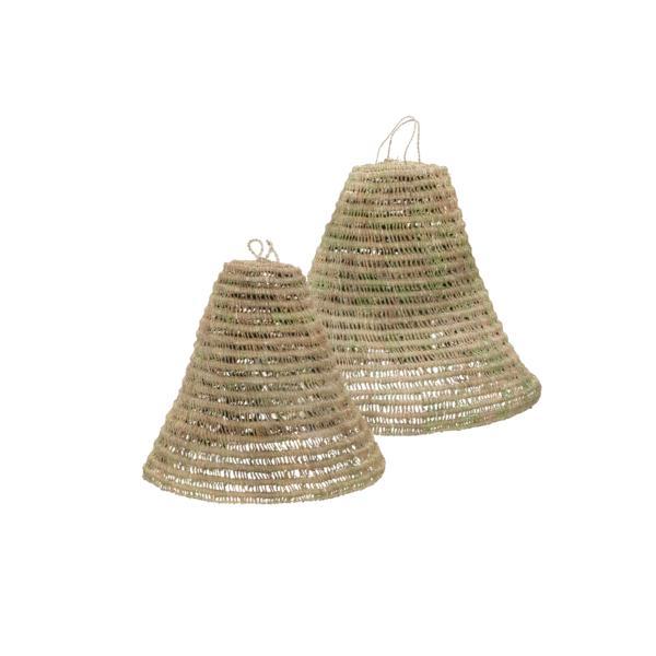 Lámpara de esparto Pampelone