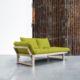 Edge ofrece tres posiciones: diván de dos plazas, chaise-longue y cama individual de 80 x 200 cm. Sus dimensiones reducidas hacen de este modelo una idónea cama auxiliar para espacios pequeños. - Ítem4