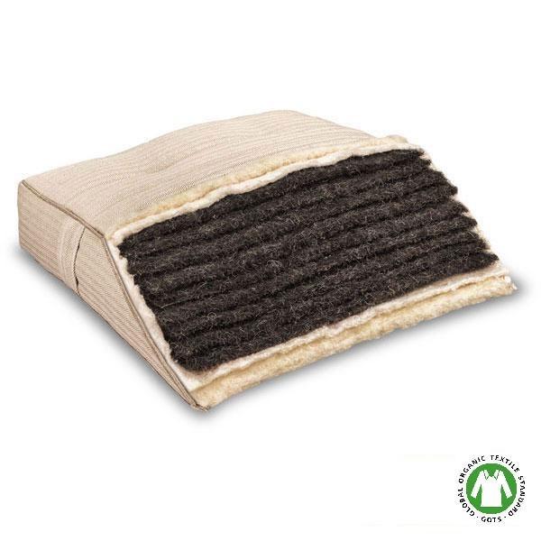 El colchón de crin de caballo Rosso es 100% ecológico y está fabricado en Alemania