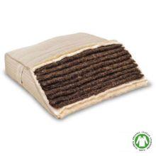 El crin de caballo es un material natural que otorga a los colchones ecológicos mayor rigidez