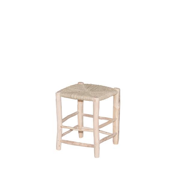 Taburete de madera Ponza