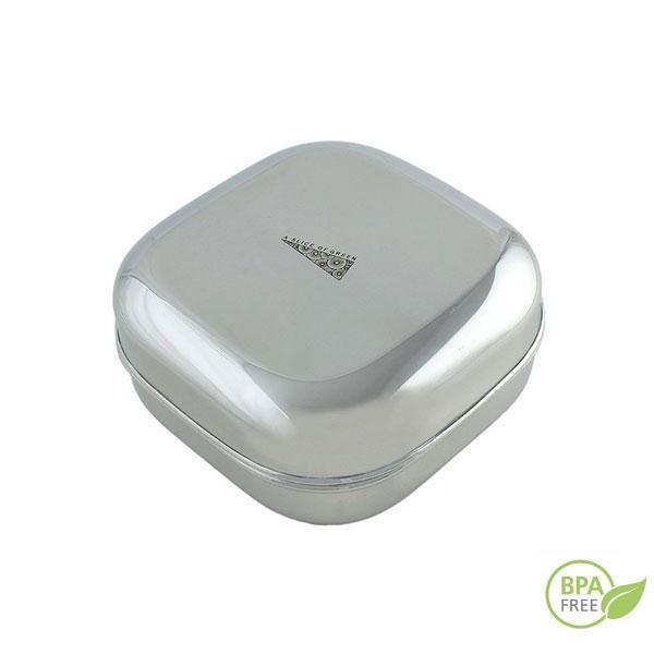 El contenedor cuadrado inox está libre de sustancias nocivas (BPA, PVC, plomo, ftalatos, etc)