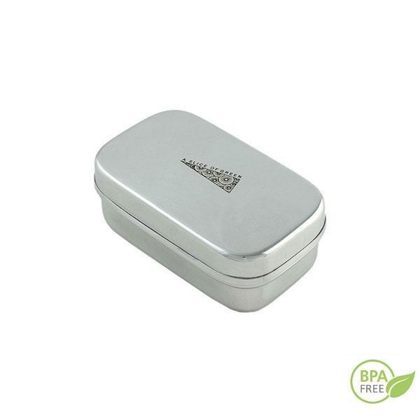 El mini-contenedor inox es ideal para llevar la comida al trabajo