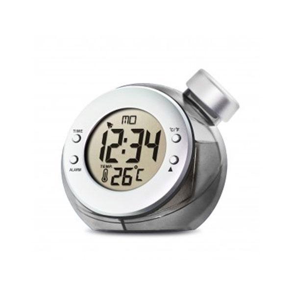 Reloj despertador de agua