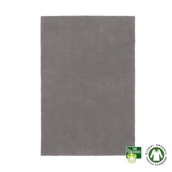 Alfombra de lana ecológica Pure gris