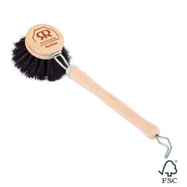 Cepillo suave Redecker para fregar platos, un producto artesanal de calidad, muy útil y duradero.