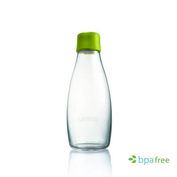 La Botella de vidrio reusable para agua Retap 05L, para personas con un estilo de vida sano que quieren cuidar su salud y la del medio Ambiente utilizando un producto reusable y no desechable.