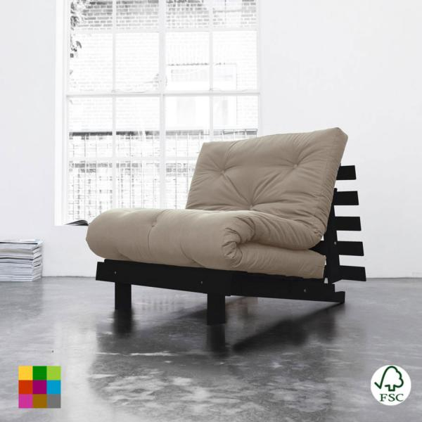 Sof cama roots individual wengu for Busco sofa cama