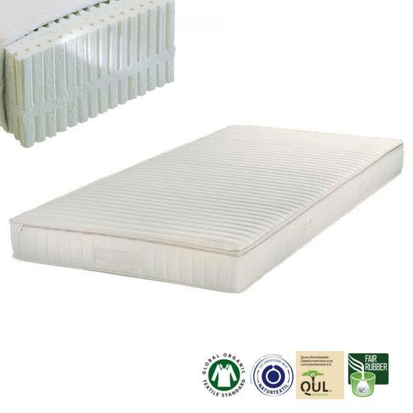 Colchón de látex natural Samar Comfort tiene un grado de firmeza Blando (H1)