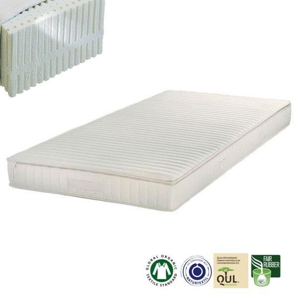 El colchón de látex natural Samar Premium cuenta con todas las cualidades que caracterizan a un excelente colchón natural.