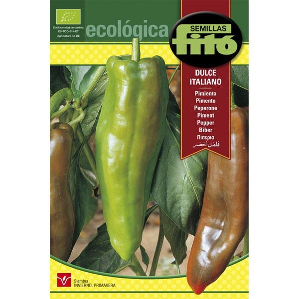 Semillas ecológicas de Pimiento dulce
