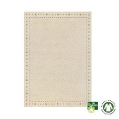 Alfombra de lana ecológica con símbolos