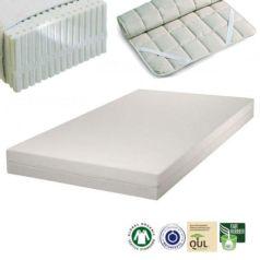 El colchón de látex natural para alérgicos SleepLine 1 se fabrica con materiales naturales de primera calidad y sus cualidades ortopédicas te garantiza un óptimo descanso. - Ítem