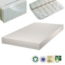 El colchón de látex natural para alérgicos SleepLine 1 se fabrica con materiales naturales de primera calidad y sus cualidades ortopédicas te garantiza un óptimo descanso.