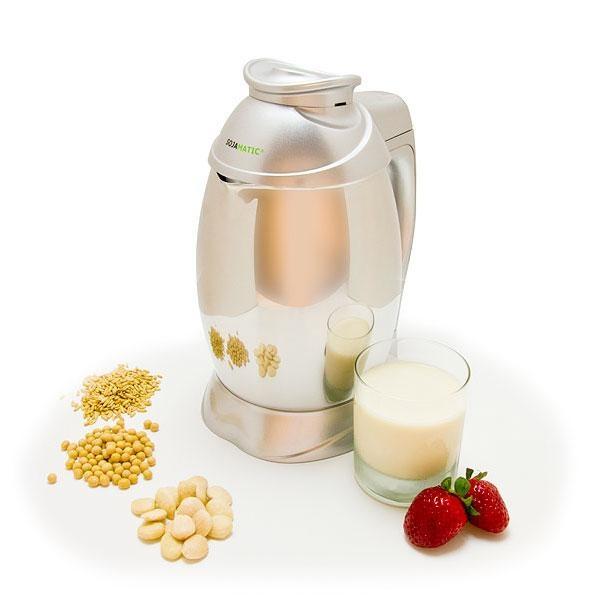 Con Sojamatic Puedes utilizar una amplia variedad de ingredientes, soja, cualquier tipo de cereal, o frutos secos.