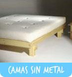 Camas sin metales
