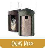 Cajas nido y comederos