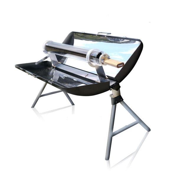 Con el horno solar Sunbox 250 puedes realizar toda clase de recetas: pescados, carnes, verduras, pasteles y hasta pan.