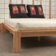 La madera de la cama japonesa Tokio es de hevea, tratada de forma natural - Ítem1