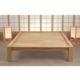La madera de la cama japonesa Tokio es de hevea, tratada de forma natural - Ítem2