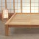 La madera de la cama japonesa Tokio es de hevea, tratada de forma natural - Ítem3