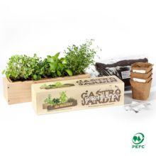 Con el Kit de siembra Gourmet Gastrojardín tendrás siempre a mano de manera práctica y sencilla tus propias hierbas aromáticas.