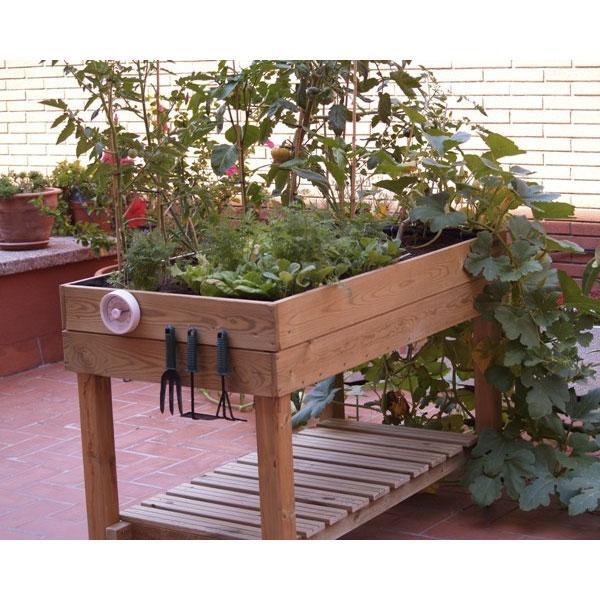 Mesa de cultivo ecomaxi - Mesa para huerto urbano ...