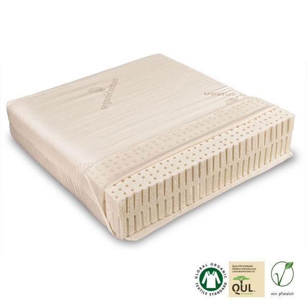 El colchón viene con una funda lavable de algodón orgánico, por tanto es apto para personas con alergias.