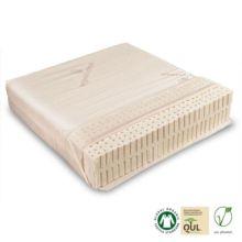 El colchón viene con una funda lavable de algodón orgánico, por tanto es apto para personas con alergias. - Ítem