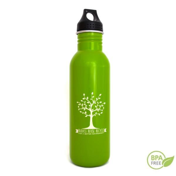 La botellas Greenyway están fabricadas en acero 304 100% libres de BPA.