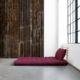 Sofá cama Shin Sano natural, original y divertido sofá cama de diseño confortable. Es un sofá de dos plazas que sin esfuerzo se convierte en una cama doble. - Ítem4