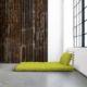 Sofá cama Shin Sano natural, original y divertido sofá cama de diseño confortable. Es un sofá de dos plazas que sin esfuerzo se convierte en una cama doble. - Ítem2