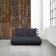 Sofá cama Shin Sano negro es un original y divertido sofá cama - Ítem1