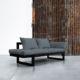 Edge ofrece tres posiciones: diván de dos plazas, chaise-longue y cama individual de 80 x 200 cm. Sus dimensiones reducidas hacen de este modelo una idónea cama auxiliar para espacios pequeños. - Ítem5